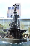 Fountain Square in Cincinnati. This photo was taken in Cincinnati . Fountain Square is a city square in Cincinnati, Ohio, United States. Founded in 1871, it was Royalty Free Stock Photo