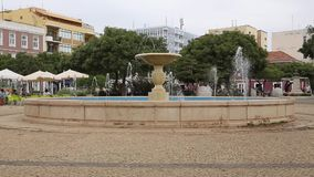 Fountain in the Square stock video footage