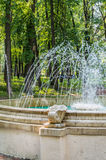 The fountain in the square Royalty Free Stock Images