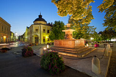 Fountain in Sremski Karlovci, Serbia Royalty Free Stock Photos