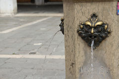 Fountain St. Giacometto. Royalty Free Stock Photography