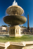 Fountain in St Peter's Square Stock Image