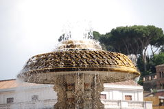 Fountain in St. Peter's Square Royalty Free Stock Photo