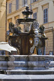 Fountain of St. Stefano. Viterbo. Lazio. Italy. Stock Photo