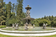 Fountain in the Stadtpark of Graz, Styria, Austria Royalty Free Stock Images