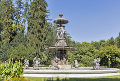 Fountain in the Stadtpark of Graz, Styria, Austria Stock Images