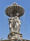 Fountain in the Stadtpark of Graz, Styria, Austria Royalty Free Stock Image