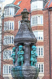 Fountain statue in Bremen, Germany Stock Photography