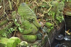 Fountain statue of Ganesha Royalty Free Stock Photo