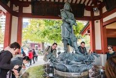 Fountain Statue in Sensoji Temple, Asakusa, Tokyo Royalty Free Stock Image