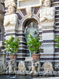 Fountain and Statues, Tivoli, Italy Royalty Free Stock Photo