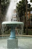 Fountain at Stetson College. In DeLand, Florida Stock Images
