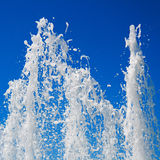 Fountain streams Royalty Free Stock Photo
