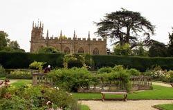Fountain in Sudeley Castle garden, England Stock Photography