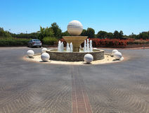 Fountain of Sueno Golf Club. Royalty Free Stock Photo