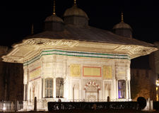 The Fountain of Sultan Ahmed III. Stock Images