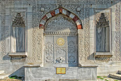 Fountain of Sultan Ahmed III. Istanbul,Turkey Stock Images