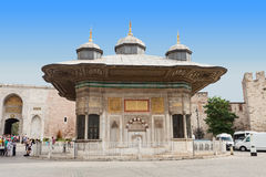 The Fountain of Sultan Ahmed III Stock Images