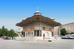 The Fountain of Sultan Ahmed III Royalty Free Stock Photo
