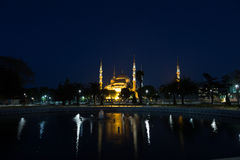 Fountain on Sultanahmet square Stock Image