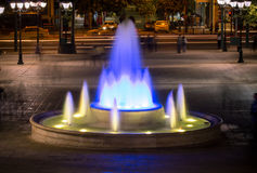 Fountain on Syntagma square, Athens, Greece Royalty Free Stock Photography