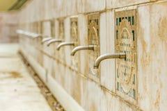 Fountain taps Stock Photos