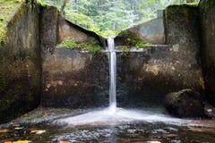 Fountain at Tatra mountains Stock Photo