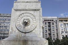 Fountain in Terazije street, Belgrade. Serbia Royalty Free Stock Photos