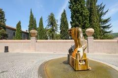 Fountain in Tivoli Royalty Free Stock Image