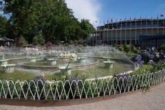 Fountain in Tivoli Gardens, Copenhagen, Denmark Stock Image