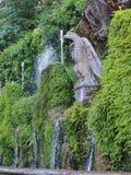 Fountain, Tivoli, Italy Royalty Free Stock Images