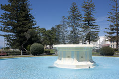 Fountain. Tom Parker fountain in Napier, New Zealand Stock Photo