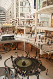 Fountain in Toronto Eaton Center Royalty Free Stock Image