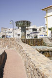 Fountain at Torrevieja Royalty Free Stock Image