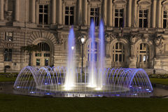 Fountain in Tours Stock Photography