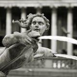 Fountain at Trafalgar Square Royalty Free Stock Image