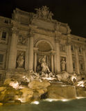 fountain Trevi Royalty Free Stock Photos