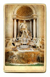 Fountain Trevi - Rome Stock Image