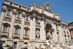 Fountain of Trevi in Rome Stock Photo