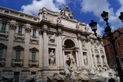 TREVI FOUNTAIN ROME ITALY royalty free stock photos