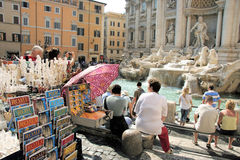 Fountain Of Trevi, Rome, Italy Royalty Free Stock Photo