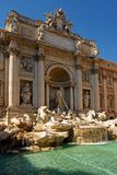 Fountain of  Trevise  in Rome Stock Photography