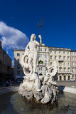 Fountain in Trieste Royalty Free Stock Photography