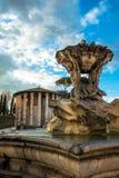 Fountain of the Tritons. Fontana dei Tritoni, Fountain of the Tritons in Rome Stock Photos