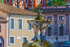 Fountain of the Tritons in Rome, Italy Royalty Free Stock Photography