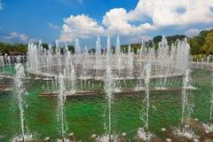 Fountain in Tsaritsino park - Russian Moscow Royalty Free Stock Photos