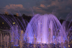 The fountain in Tsaritsyno Royalty Free Stock Photography
