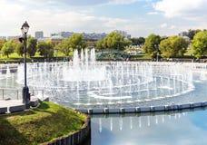 Fountain in Tsaritsyno park Royalty Free Stock Image