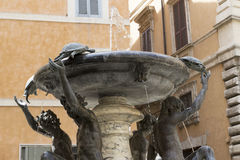 Fountain of the turtles, Rome Royalty Free Stock Photo