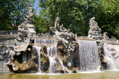 Fountain of the Twelve Months, Turin Royalty Free Stock Photo